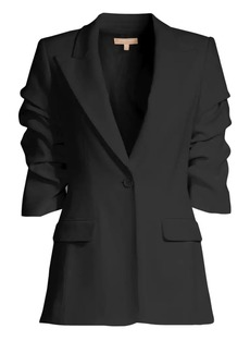 Michael Kors Crushed Sleeve Blazer