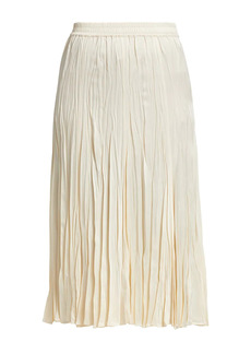 Michael Kors Crushed Slip Skirt