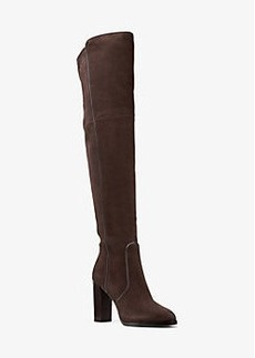 Michael Kors Cutler Suede Over-the-Knee Boot