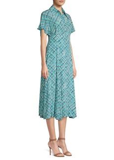 Michael Kors Dolman Silk Shirtdress