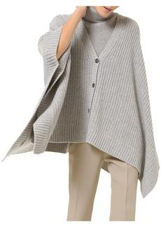 Michael Kors Dolman-Sleeve Shaker Knit Cardigan