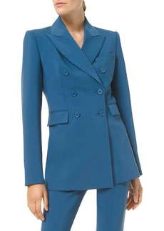 Michael Kors Double Breasted Fitted Blazer
