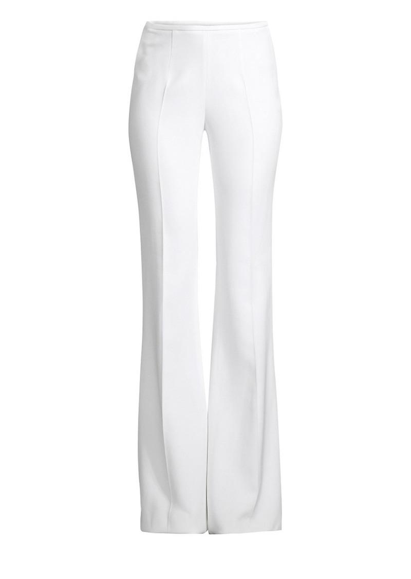 Michael Kors Double Crepe Flare Pants
