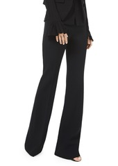 Michael Kors Double Crepe Sable Flare Pants