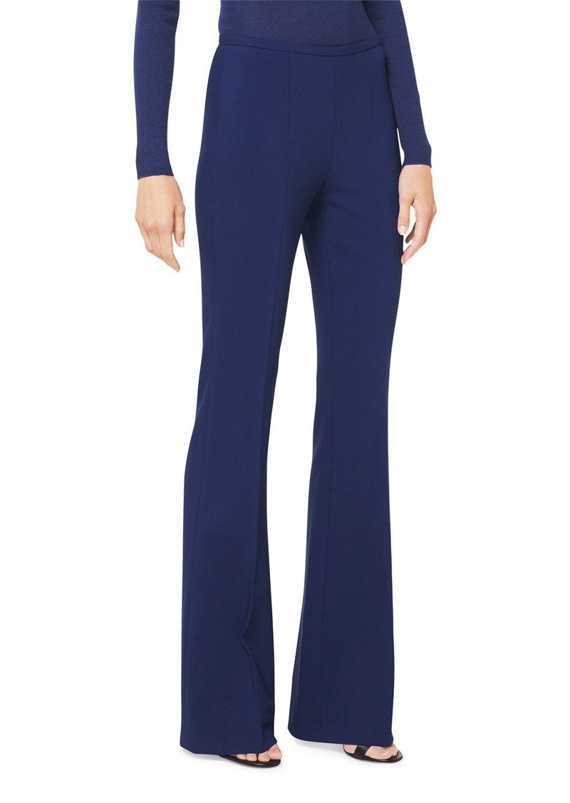 Michael Kors Double-Face Wool Flare Pants