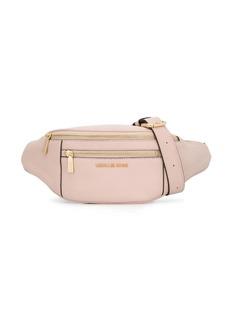 Michael Kors double zipped compartment belt bag
