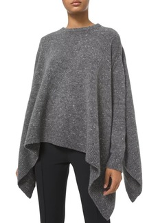 Michael Kors Draped Hankerchief Cashmere & Wool-Blend Pullover Sweater