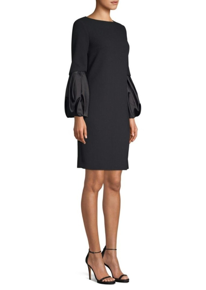 Michael Kors Duchesse Balloon Sleeve Shift Dress