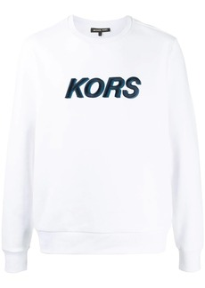 Michael Kors embroidered logo sweatshirt