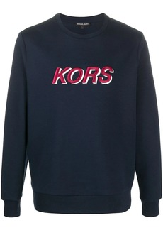 Michael Kors embroidered logo sweatshirt