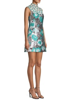 Michael Kors Embroidered Shift Dress