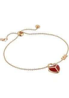 Michael Kors Enamel Heart Bracelet