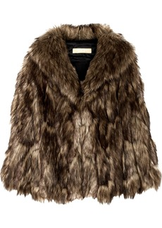 Michael Kors Faux Fur Cape
