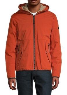 Michael Kors Faux Fur-Lined Hooded Jacket