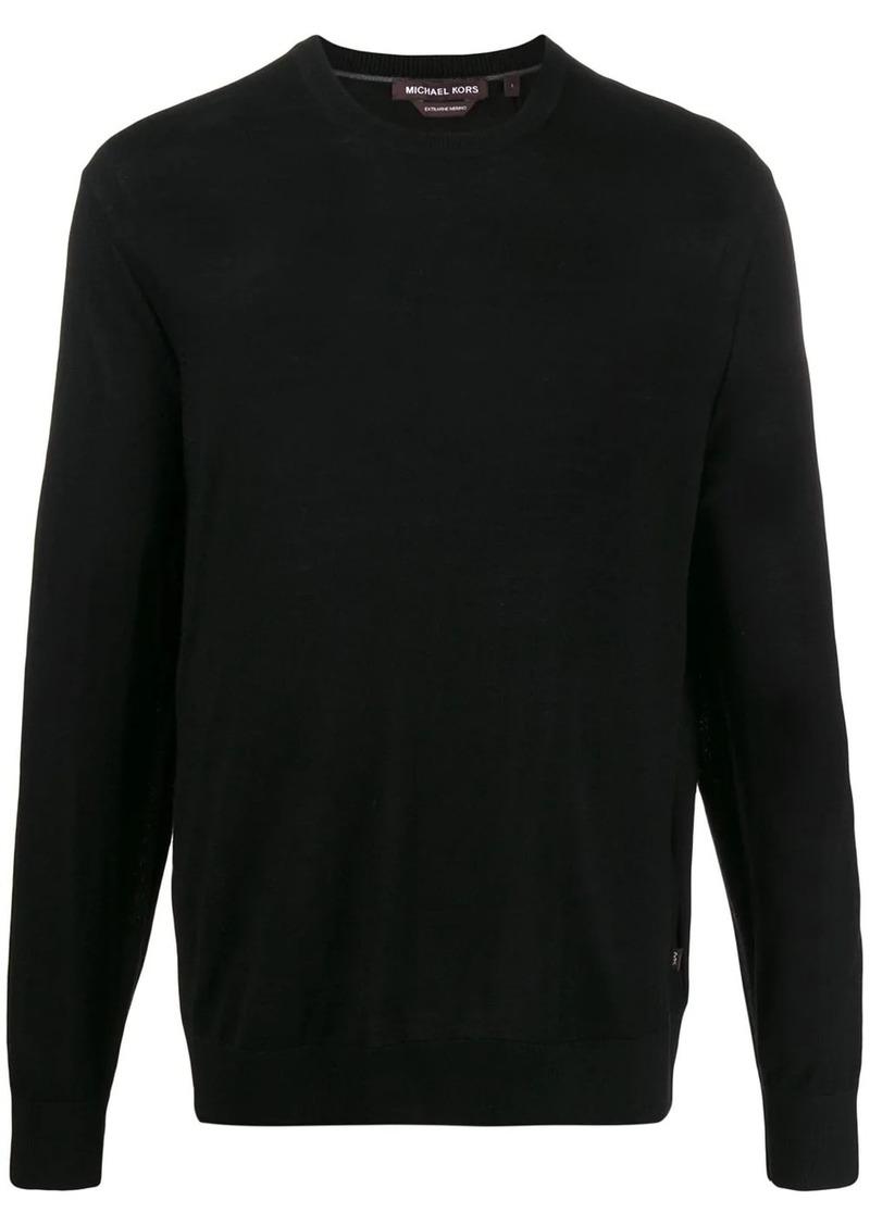 Michael Kors fine knit crew neck jumper