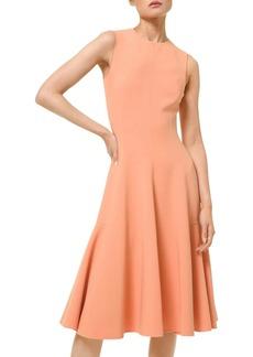 Michael Kors Fit-&-Flare Sleeveless Dress