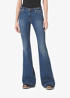 Michael Kors Five-Pocket Flared Jeans