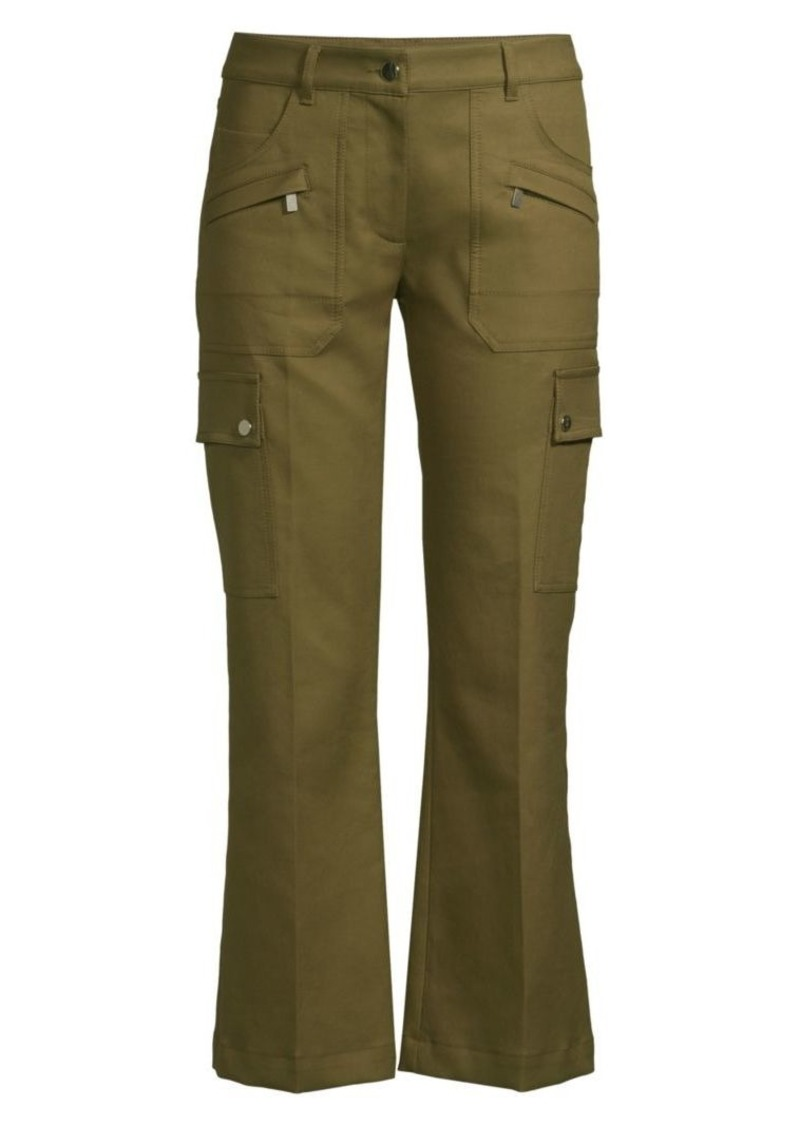 Michael Kors Flared Cropped Cargo Pants