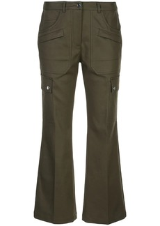 Michael Kors flared cropped trousers