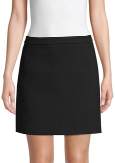 Michael Kors Fleece Wool Mini Skirt