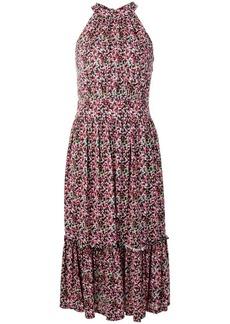 Michael Kors floral print midi dress