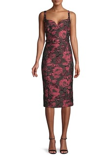 Michael Kors Floral Sheath Dress