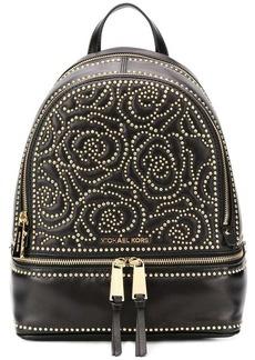 Michael Kors floral studded backpack