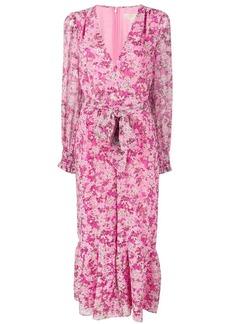 Michael Kors floral waist-tied jumpsuit