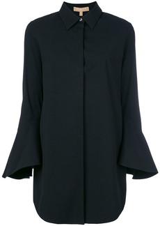 Michael Kors flute sleeve longline shirt
