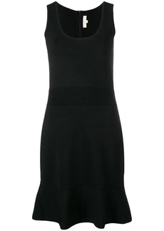 Michael Kors fluted hem dress