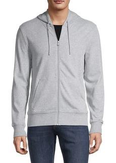 Michael Kors Full-Zip Cotton-Blend Hoodie