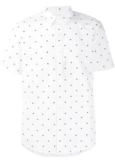 Michael Kors geometric short-sleeve shirt