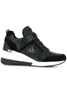 Michael Kors Georgie woven detail sneakers