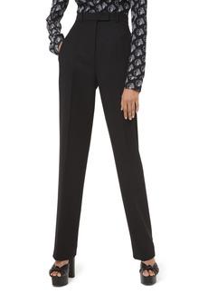 Michael Kors High-Rise Straight-Leg Trousers