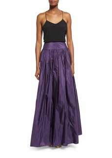 Michael Kors High-Waist Full Skirt