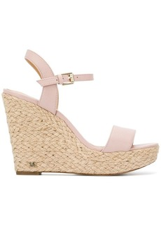 749bb5596d4 Michael Kors Michael Kors Embry Ankle-Wrap Wedge Sandal
