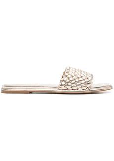 Michael Kors interwoven-strap sandals