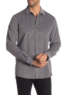 Michael Kors Jax Print Classic Fit Shirt