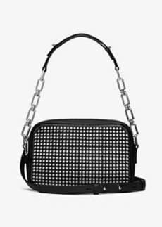 Michael Kors Julie Small Studded French Calf Camera Bag