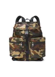 Michael Kors Kent Sport Zip Camo Backpack