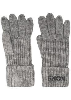 Michael Kors knitted gloves