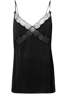 Michael Kors lace trimmed slip top
