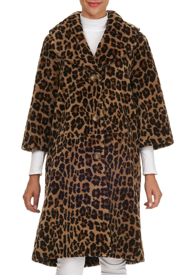 Michael Kors Lamb Shearling Stroller Coat
