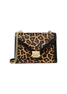 MICHAEL Michael Kors Large Whitney Cheetah Calf Hair Shoulder Bag
