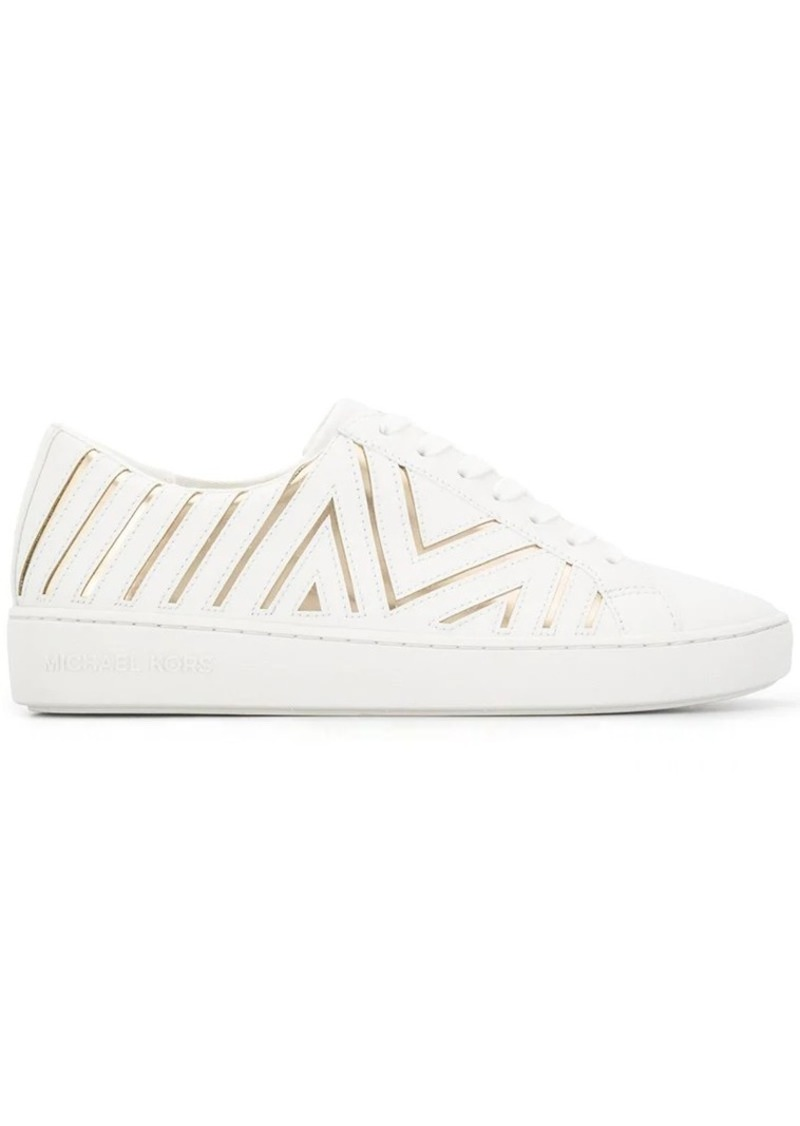 Michael Kors lazer cut sneakers