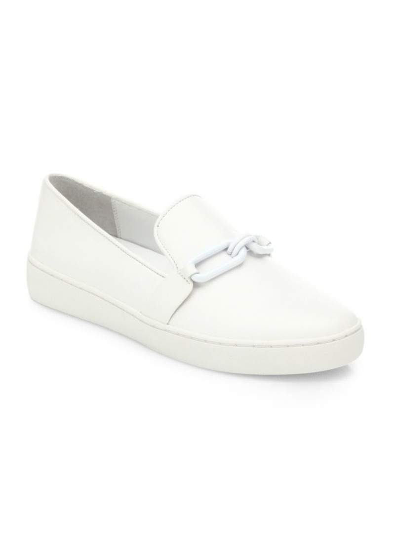 f8fdc08f8c9 On Sale today! Michael Kors Lennox Leather Skate Sneakers