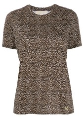 Michael Kors leopard print T-shirt