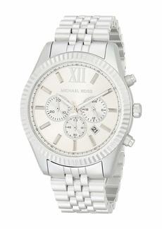 Michael Kors Lexington Chronograph Aluminum Watch