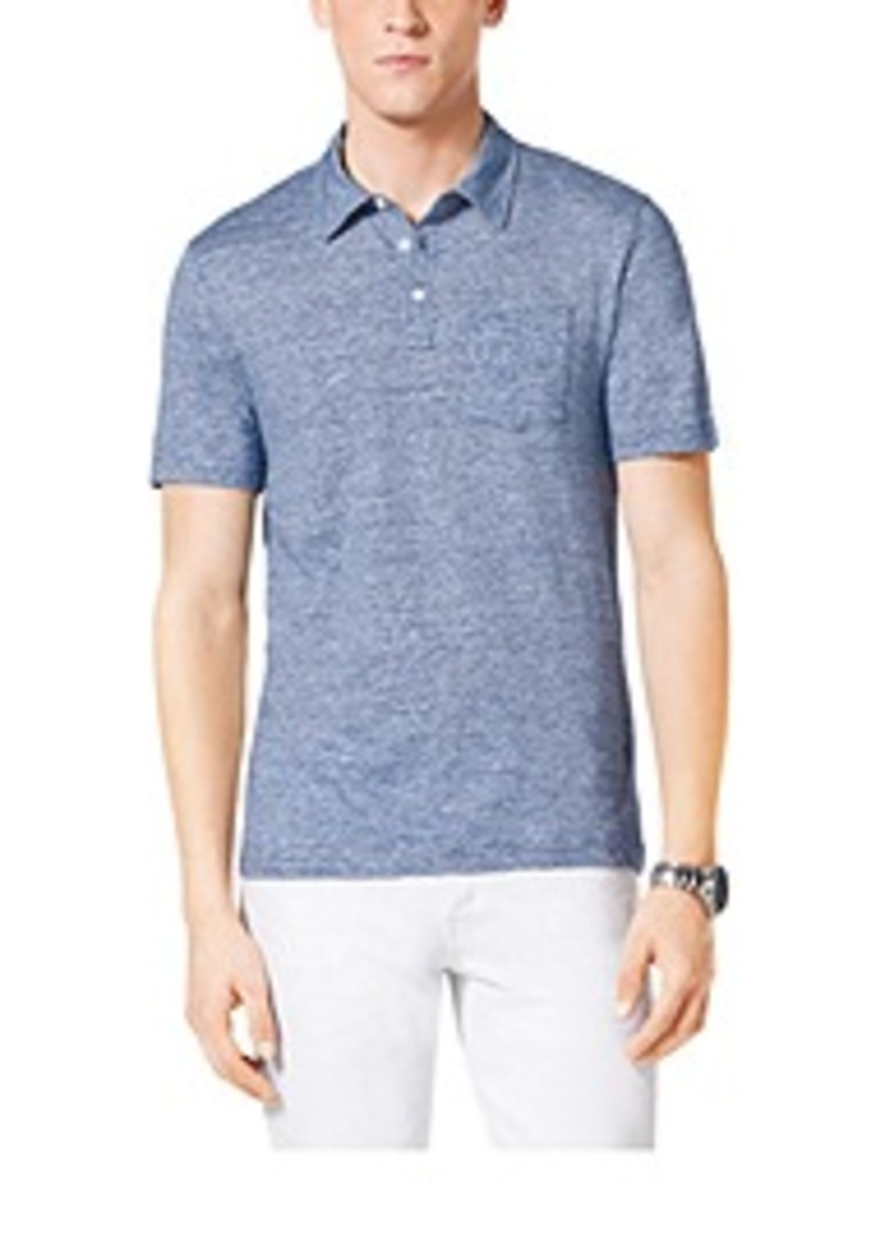 Michael Kors Linen And Cotton Polo Shirt Casual Shirts