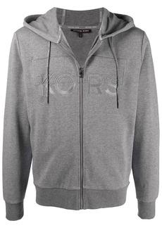 Michael Kors logo-embroidered hooded sweatshirt